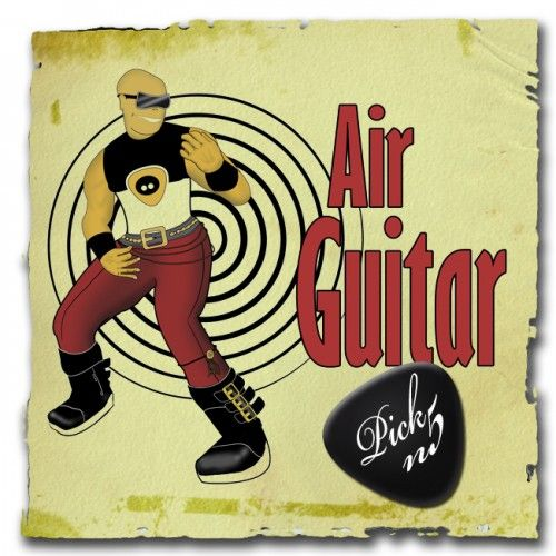 air guitar rock and roll