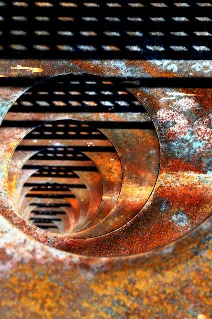 textura de oxido